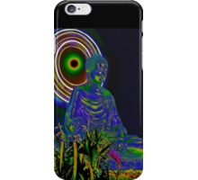 Psychedelic Buddha iPhone Case/Skin