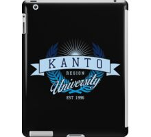 Kanto Region University_Dark BG iPad Case/Skin