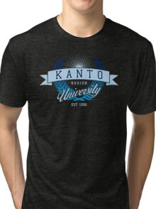 Kanto Region University_Dark BG Tri-blend T-Shirt