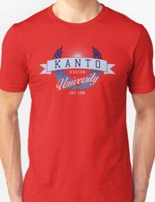 Kanto Region University_Dark BG T-Shirt