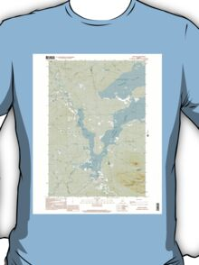Maine USGS Historical Map Stratton 103016 1997 24000 T-Shirt