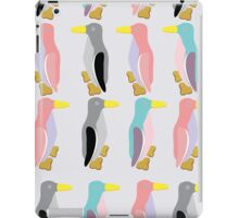 funny penguins seamless pattern iPad Case/Skin