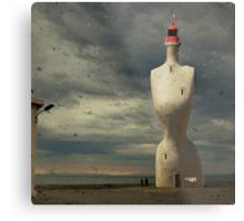 French surreal lighthouse Metal Print