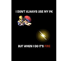 PK Fire Photographic Print