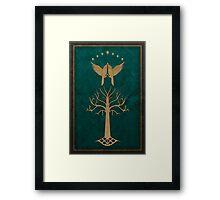 Faramir's Shield Framed Print