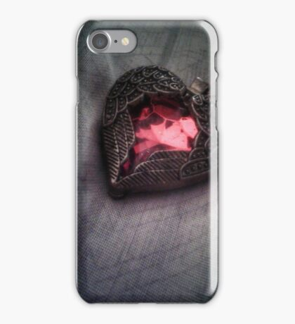 Emotional component iPhone Case/Skin