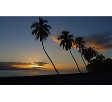 2007 ~ Lahaina Sunset  Photographic Print
