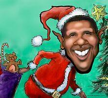 Obama Christmas by Kevin Middleton