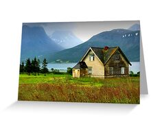 House in Norway Greeting Card