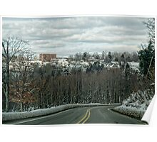 In the Allegheny Mountains Poster