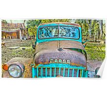 Old Dodge Trucks.. Poster