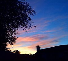 This mornings sunrise by Lisa Ouillette