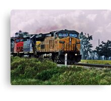 Crazy Train Canvas Print