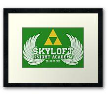 Skyloft Knight Academy '11 Framed Print