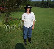 My new BLack Hat and Roper Boots U see! by RealPainter