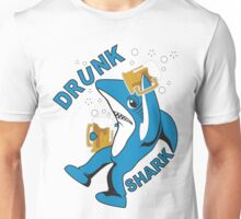 Drunk Shark - Left Shark Unisex T-Shirt