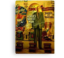 Worlds tallest man - Robert Wadlow Canvas Print