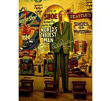 Worlds tallest man - Robert Wadlow Photographic Print