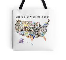 United States of Music Tote Bag