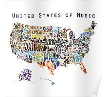 United States of Music Poster
