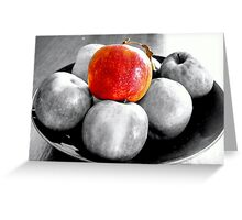 Apple HDR Greeting Card