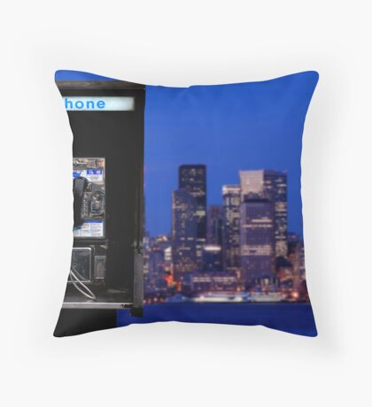 The Wire Throw Pillow