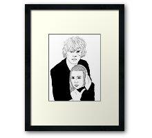Ahs Coven Kyle Spencer and Zoe Benson Framed Print