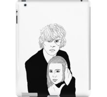 Ahs Coven Kyle Spencer and Zoe Benson iPad Case/Skin