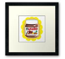 Chocolatey Nutella Framed Print