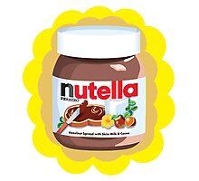 Chocolatey Nutella Photographic Print