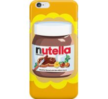 Chocolatey Nutella iPhone Case/Skin