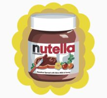 Chocolatey Nutella Kids Tee