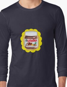 Chocolatey Nutella Long Sleeve T-Shirt