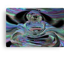 Shark teeth galactica Canvas Print