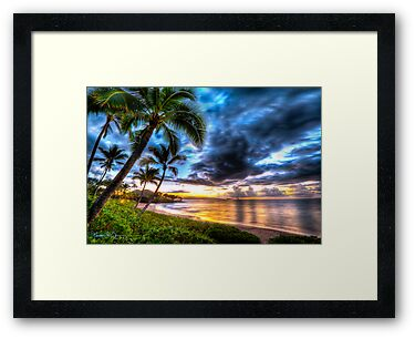 Maluaka Calm at Prince Beach, Maui by Randy Jay Braun