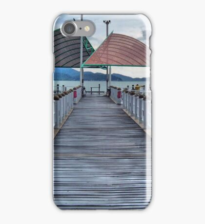 Jetty on the Strand, HDR iPhone Case/Skin