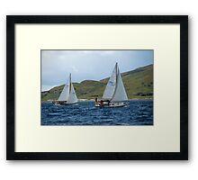 West Highland Week 2007 - Mist of Malin and Ivanhoe Framed Print
