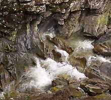 Wet Rock Formations by Tim Haynes