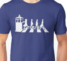 Tardis Road - White Unisex T-Shirt