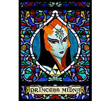 Stained Glass Midna Photographic Print