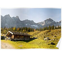 Alpine hut  Poster