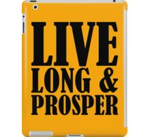 Live Long & Prosper Nimoy iPad Case/Skin