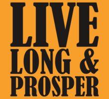 Live Long & Prosper Nimoy by beloknet