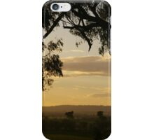 Morans lookout rural scape 2014 iPhone Case/Skin