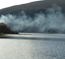 Smoke on the Loch by Kirsten Andrew
