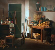 The pantry by marcelfineart