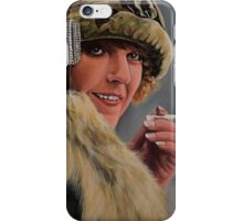 Swedish silent movie actress Sigrid Holmquist iPhone Case/Skin