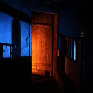 27.2.2015: Light Painting in Abandoned Cowshed IV by Petri Volanen