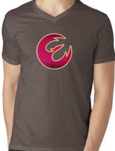 Rebel Phoenix Crest Mens V-Neck T-Shirt