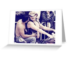 In the name of Love Greeting Card
